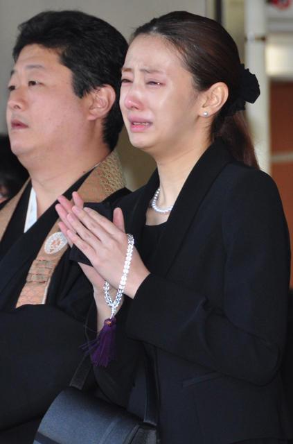 森田監督との別れに号泣した北川景子
