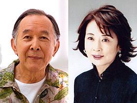 「東京家族」の主人公夫婦を演じる橋爪功と吉行和子「東京家族」