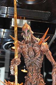 撮影で使われた巨神兵と同デザインのモデル