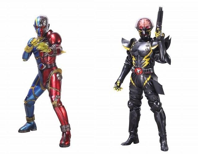 リブート版キカイダーとハカイダーのデザインが発表された件