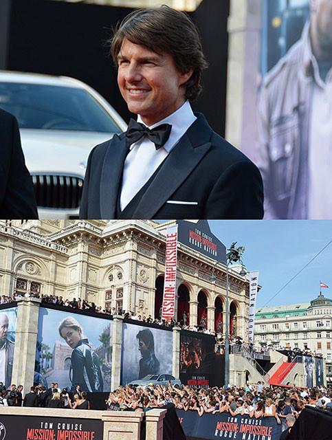 ウィーン国立歌劇場が「ミッション:インポッシブル」一色に!
