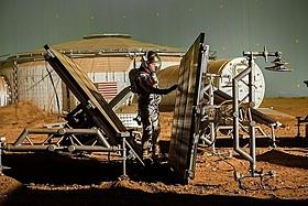 NASAがプロジェクト全般に協力している「オデッセイ」一場面「オデッセイ」