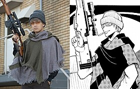 腕利きスナイパー・レッドアイ役の阿部力