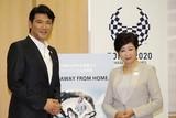 別所哲也、小池百合子東京都知事に表敬訪問 SSFF&ASIA2017への参加を要望