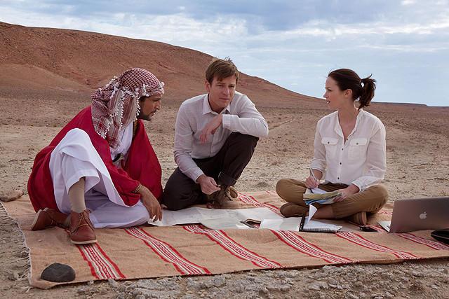 「砂漠でサーモン・フィッシング」の画像1