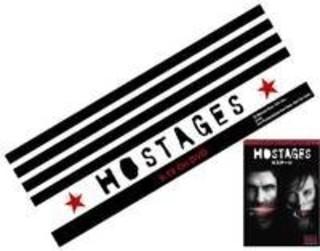 「HOSTAGES/ホステージ」オリジナルフェイスタオル
