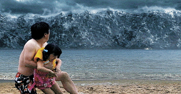 """いまだかつてない""""メガ津波""""のインパクトは絶大 いまだかつてない""""メガ津波""""のインパクトは絶大"""